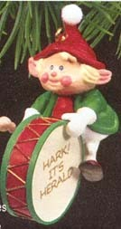 1990 Hark! It's Herald 2nd  Hallmark Keepsake Ornament 675QX446-3