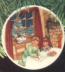 1990 Collector's Plate 4th  Hallmark Keepsake Ornament 875QX443-6