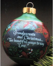 1990 Grandparents-Ball  Hallmark Keepsake Ornament 475QX225-3