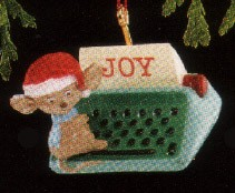 1990 Type of Joy *Miniature Hallmark Keepsake Ornament 450QXM564-6
