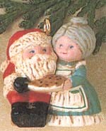 1991 The Kringles 3rd *Miniature Hallmark Keepsake Ornament 600QXM564-7