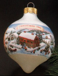 1991 Grandparents-Ball  (NB) Hallmark Keepsake Ornament 475QX230-9-2