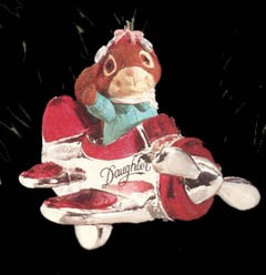 1992 Daughter-Airplane  Hallmark Keepsake Ornament 675QX503-1