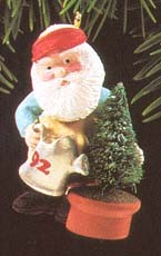 1992 Green Thumb Santa  Hallmark Keepsake Ornament 775QX510-1