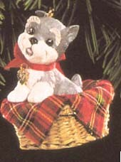 1992 Puppy Love 2nd (SDB) Hallmark Keepsake Ornament 775QX448-4
