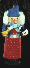 1992 North Pole Nutcrackers-Frieda The Animal's Friend  Hallmark Keepsake Ornament 875QX526-4