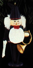 1992 North Pole Nutcrackers Ludwig The Musician Hallmark Keepsake Ornament 875QX528-1