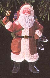 1993 Merry Olde Santa 4th   (NB) Hallmark Keepsake Ornament 1475QX484-2-2-2