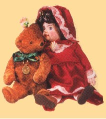 1993 Julienne & Teddy  Hallmark Keepsake Ornament 2175QX529-5