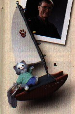 1994 Kitty's Catamaran  Hallmark Keepsake Ornament 1095QX541-6-2