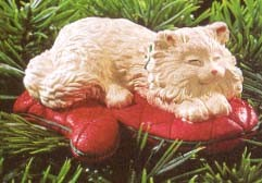 1995 Cat Naps 2nd  Hallmark Keepsake Ornament 795QX509-7