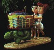 1995 Flintstones - Betty & Wilma  Hallmark Keepsake Ornament 1495QX541-7