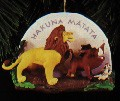 1995 Lion King Simba Pumba & Timon  Hallmark Keepsake Ornament 1295QX615-9