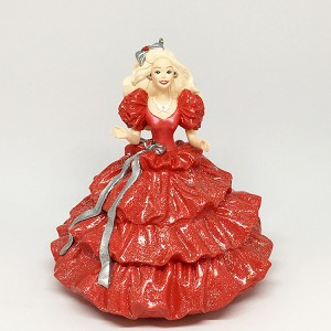 1996 Barbie-Happy Holidays Barbie 1st *Club Hallmark Keepsake Ornament 1495QXC418-1