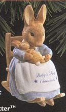 1996 Baby's First Christmas - Beatrix Potter (SDB) Hallmark Keepsake Ornament 1895QX574-4