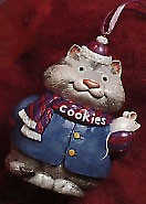 1996 Carmen Cookie Jar- Cat....Complements the Sweet Tooth Treats Series (SDB) Hallmark Keepsake Ornament 1595 QK116-4