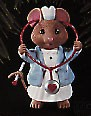 1996 Tender Loving Care Mouse Nurse  Hallmark Keepsake Ornament 795QX611-4
