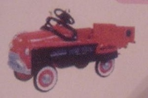 1997 Kiddie Car Classics-4th-Murray Dump Truck *Colorway/Repaint Hallmark Keepsake Ornament $N/AQX619-5C