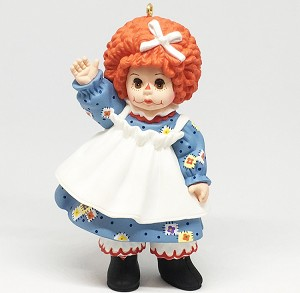 1998 Madame Alexander-Mop Top Wendy 3rd   Hallmark Keepsake Ornament 1495QX635-3