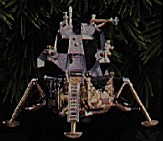 1998 Journeys Into Space 3rd Apollo Lunar Module Hallmark Keepsake Ornament QLX7543