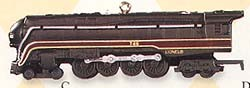 1999 Lionel Trains 4th 746 Norfolk & Western Steam Hallmark Keepsake Ornament 1895QX637-7