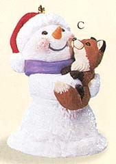 1999 Snow Buddies 2nd Hallmark Keepsake Ornament 795QX631-9