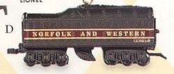 1999 Lionel Trains Norfolk Tender Hallmark Keepsake Ornament 1495QX649-7
