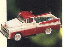 1999 All-American Trucks 5th- 1957 Dodge Hallmark Keepsake Ornament 1395QC626-9