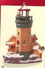 1999 Lighthouse Greetings 3rd Hard To Find SDB Hallmark Keepsake Ornament 2400QXl7379