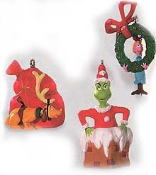 1999 Merry Grinch-Mas! *Miniature Hallmark Keepsake Ornament 1995QXM462-7