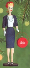 2000 Barbie 7th - Commuter Set  Hallmark Keepsake Ornament 1595QX681-4