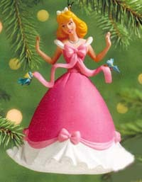 2000 Dressing Cinderella Hallmark Keepsake Ornament 1295QX410-9