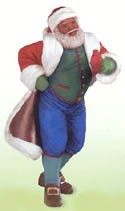 2000 Joyful Santa 2nd  Hallmark Keepsake Ornament 1495QX678-4