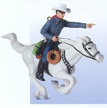 2000 The Lone Ranger (SDB) Hallmark Keepsake Ornament 1595QX694-1