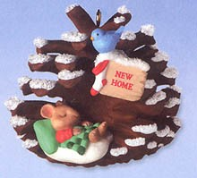 2000 New Home (SDB) Hallmark Keepsake Ornament 895QX817-1