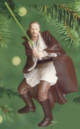 2000 Star Wars Qui-Gon Jinn Hallmark Keepsake Ornament 1495QX674-1