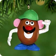 2000 Mr. Potato Head *Miniature Hallmark Keepsake Ornament 595QXM601-4