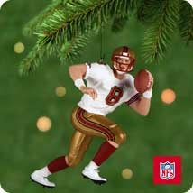 2001 Football Legends Steve Young 49ers Hallmark Keepsake Ornament 1495QXI6305