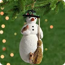 2001 My First Snowman  Hallmark Keepsake Ornament 995QX444-2