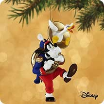 2002 Mickey's Holiday Parade 6th & Final Goofy Toots Tuba Hallmark Keepsake Ornament 1395QXD90-3