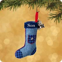 2002 Son-Stocking Hallmark Keepsake Ornament 995QX894-3