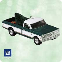 2003 All-American Trucks - 1972 Cheyenne 9th Hallmark Keepsake Ornament 1495QX811-7