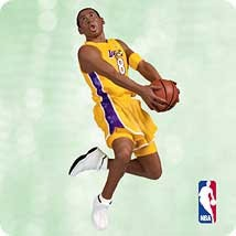 2003 Hoop Stars 9th-Kobe Bryant  Hallmark Keepsake Ornament 1495QX823-7