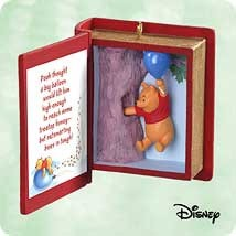 2003 Winnie the Pooh Book 6th Little Rain Cloud Hallmark Keepsake Ornament 1395QXD511-7