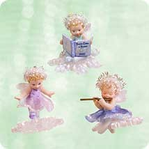 2003 Frostlight Faerie Sisters Fairy Hallmark Keepsake Ornament 2495QXG247-9