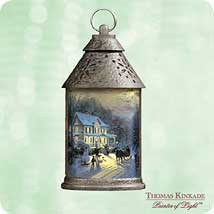 2003 Thomas Kinkade Home For The Holidays  Hallmark Keepsake Ornament 1695QXG883-7