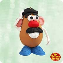 2003 Mr. Potato Head   Hallmark Keepsake Ornament 1295QXI427-7
