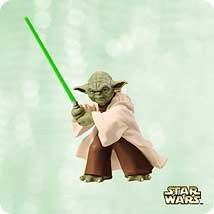 2003 Star Wars Yoda Hallmark Keepsake Ornament 1495QXI833-7