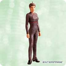 2003 Star Trek T'Pol Hallmark Keepsake Ornament 1495QXI875-7