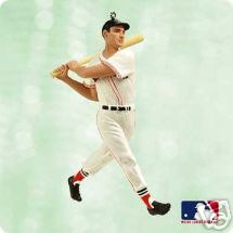 2003 At the Ballpark Complement Ted Williams Hallmark Keepsake Ornament 1495QX529-6